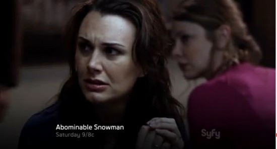 abominable snowman syfy