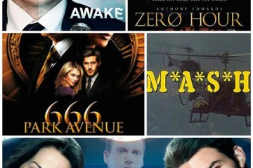 Awake, Zero Hour, 666 Park Avenue, M*A*S*H, Saving Hope