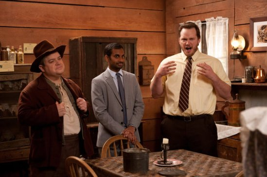 Parks and Recreation Season 5 Episode 18 & 19 Article Two; Jerry's Retirement (20)