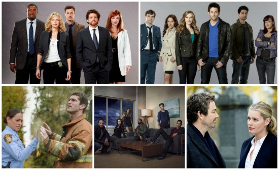 Motive cast, Primeval: New World cast, Under the Dome, Graceland cast, King and Maxwell