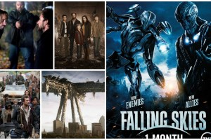 Falling Skies Collage