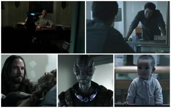 Manchester, Hal, Pope, Cochise, Alexis - Falling Skies