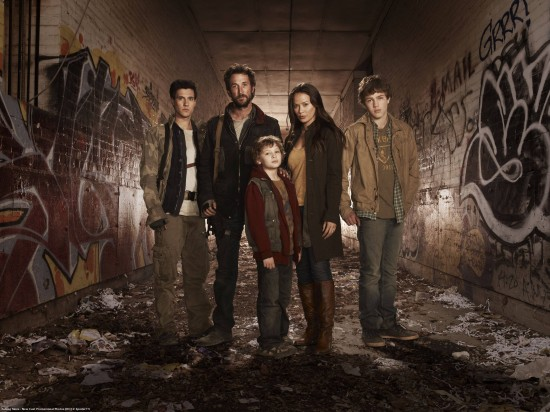 Hal, Tom, Ben, Matt, Anne - Falling Skies