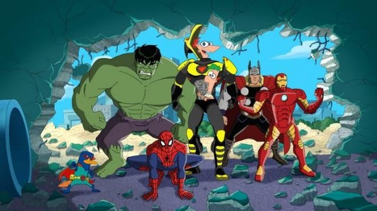 Phineas and Ferb: Mission Marvel (4)