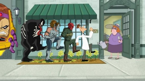 Phineas and Ferb: Mission Marvel (2)