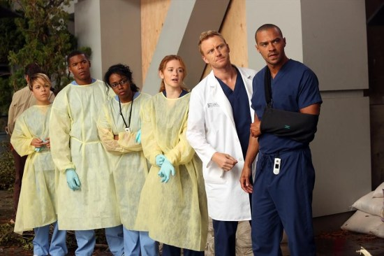 Grey's Anatomy Season 10 Episode 1 & 2 Seal Our Fate;I Want You With Me (25)