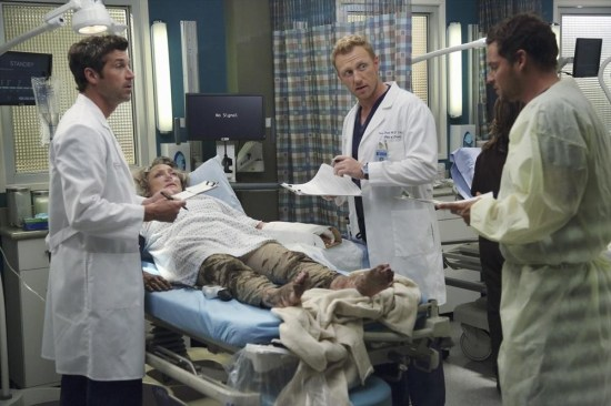 Grey's Anatomy Season 10 Episode 1 & 2 Seal Our Fate;I Want You With Me (21)