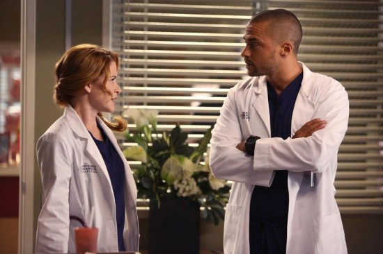 Grey's Anatomy Season 10 Episode 1 & 2 Seal Our Fate;I Want You With Me (4)