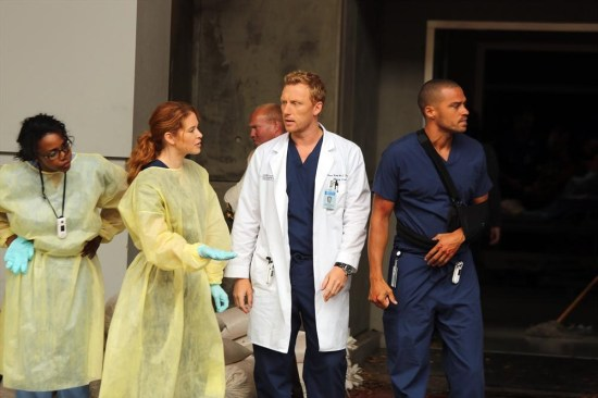 Grey's Anatomy Season 10 Episode 1 & 2 Seal Our Fate;I Want You With Me (29)