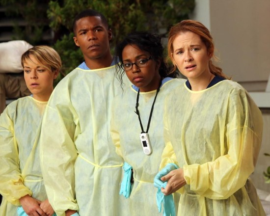 Grey's Anatomy Season 10 Episode 1 & 2 Seal Our Fate;I Want You With Me (28)