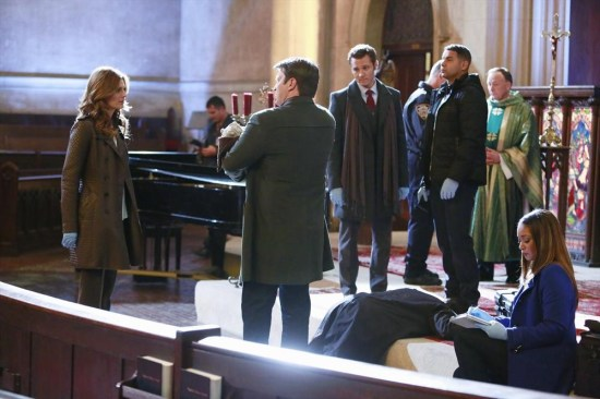 Castle Season 6 Episode 10 The Good, The Bad & The Baby (1)