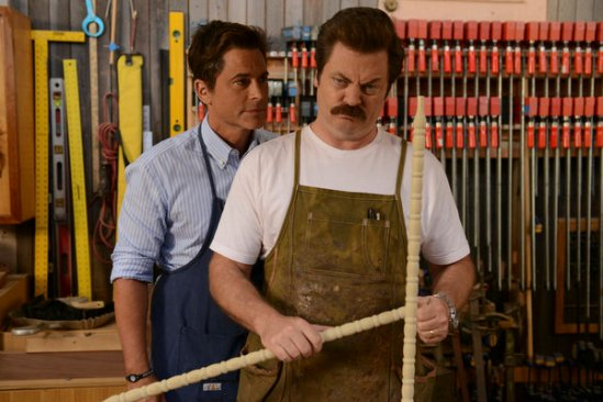 Parks and Recreation season 6 episode 8 & 9 Fluoride/The Cones of Dunshire (29)