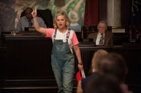 Parks and Recreation season 6 episode 6 & 7 Filibuster/Recall Vote (23)