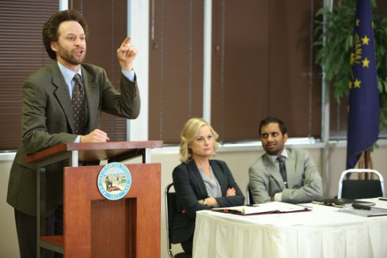 Parks and Recreation season 6 episode 8 & 9 Fluoride/The Cones of Dunshire (38)