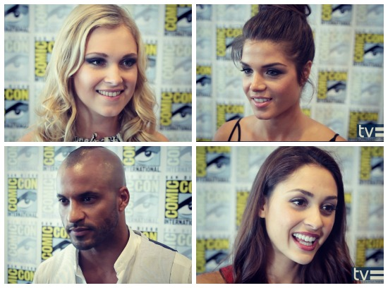the 100 cast comic-con 2014