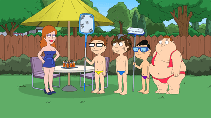 American Dad Season 10 Episode 1 & 2 Roger Passes the Bar/From Russia with Love (4)
