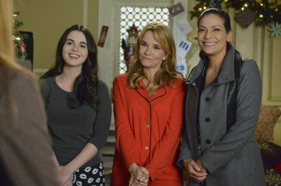 Switched at Birth Holiday Special 2014 Yuletide Fortune Tellers (6)
