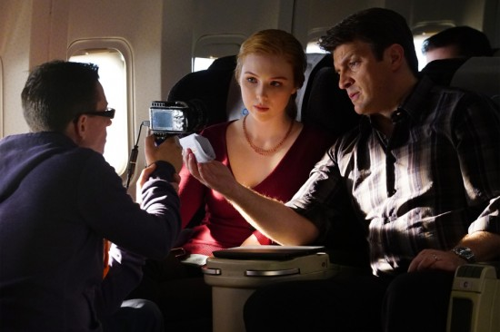 MOLLY QUINN, NATHAN FILLION