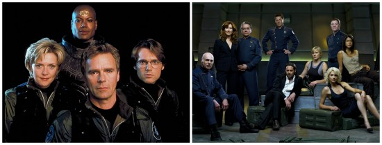 Stargate SG-1 and Battlestar Galactica Casts