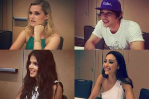 the 100 cast comic-con 2015