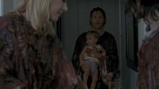 Judith and Rick - The Walking Dead