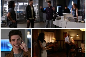 Bary, Iris, Joe, Harrison, Cisco, Caitlin, Jay - The Flash