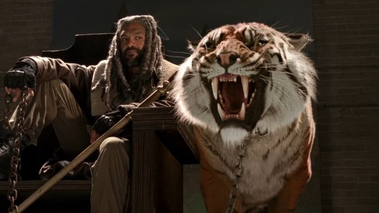 King Ezekiel and Shiva - The Walking Dead