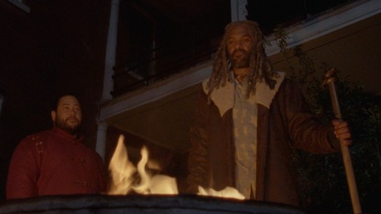 King Ezekiel and Jerry - The Walking Dead