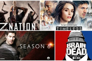 Z Nation, Grimm, Braindead, Timeless