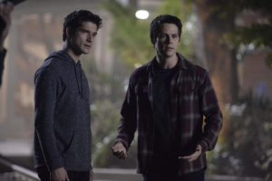 Scott and Stiles