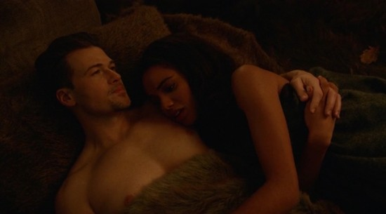 Nate and Amaya - DC's Legends of Tomorrow
