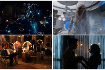 Barry, Iris, Kara, Killer Frost, Savitar - The Flash