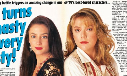 "TV Week: ""Lucy turns nasty… very nasty"" A Country Practice 10th August 1991"