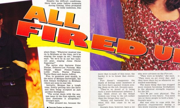 "TV Week: ""All Fired Up!"" Fire January 28th 1995"