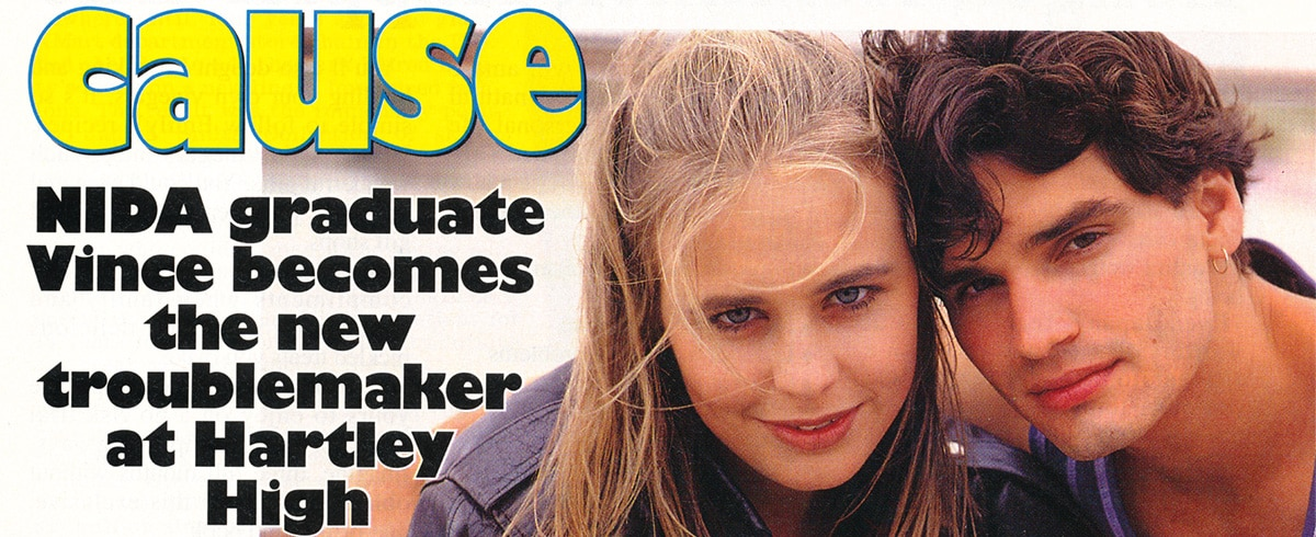 """TV Week: """"Rebel with a cause"""" Heartbreak High January 28th 1995"""