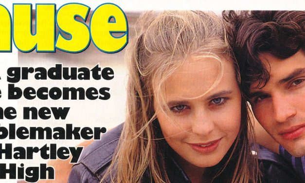 "TV Week: ""Rebel with a cause"" Heartbreak High January 28th 1995"