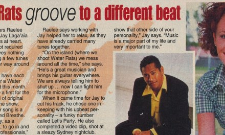 "TV Week: ""Water Rats groove to a different beat"" Water Rats May 8th 1999"