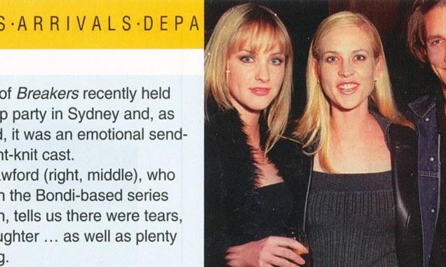 "TV Week: ""Breakers breakup"" Breakers 31st July 1999"
