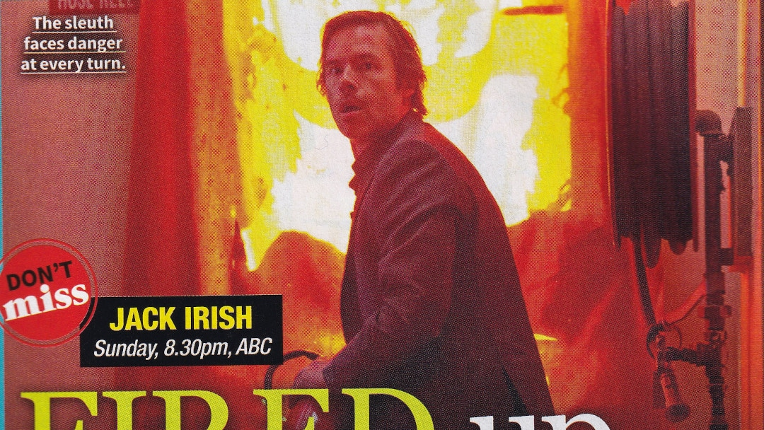 "TV Week: ""Fired Up"" Jack Irish 21st July 2018"