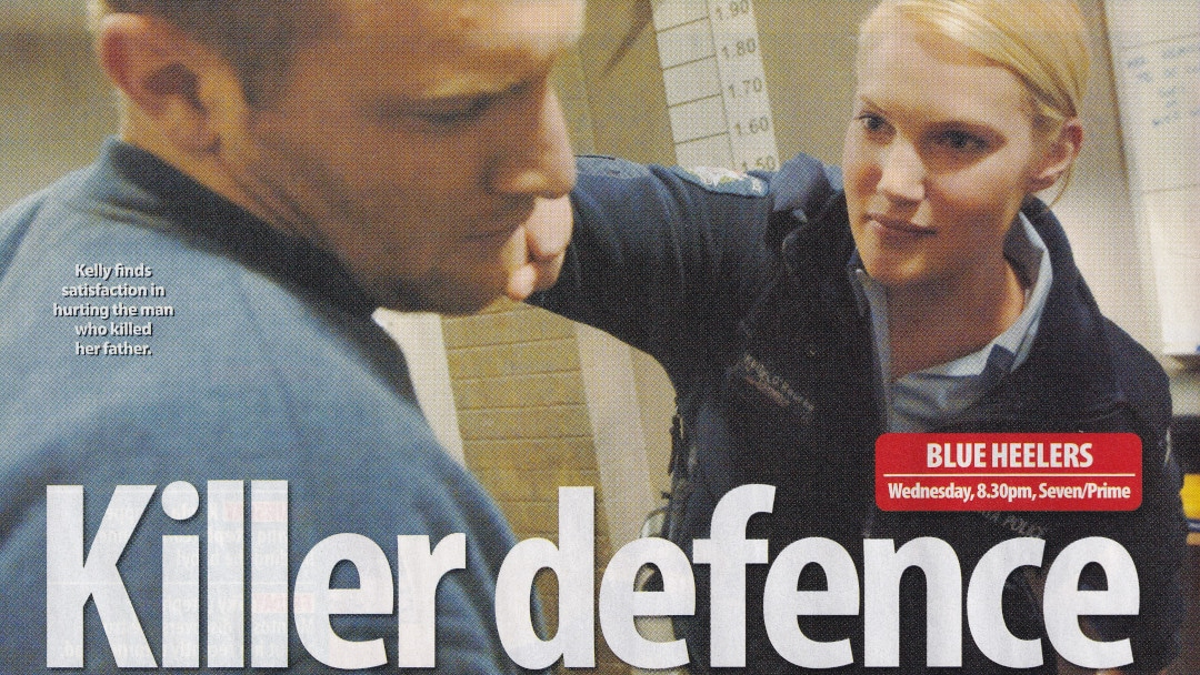 "TV WEEK: ""Killer Defence"" Blue Heelers 23rd July 2005"