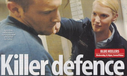 "TV WEEK: ""Killer Defence"" Blue Heelers 23rd July 2005"
