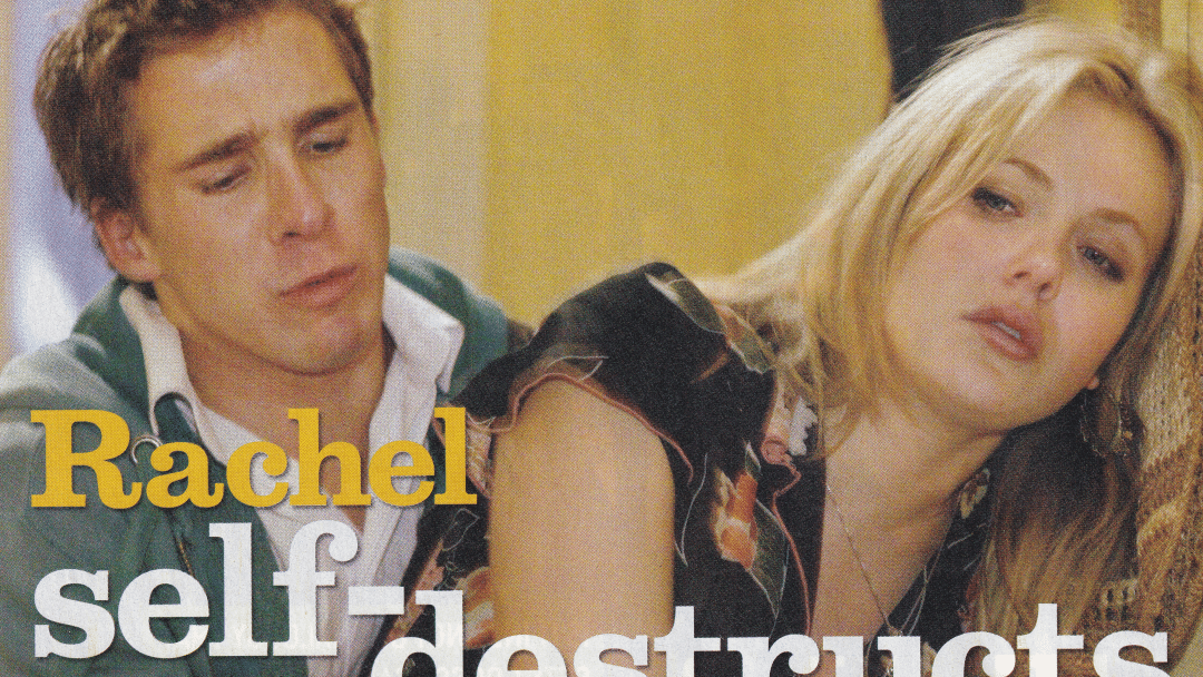 """TV Week: """"Rachel self-destructs"""" Packed To The Rafters 6th September 2008"""