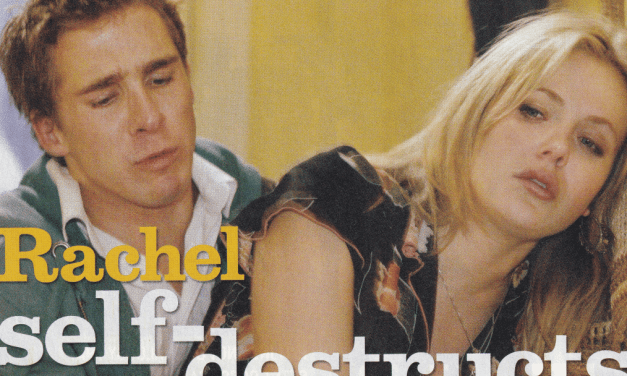 "TV Week: ""Rachel self-destructs"" Packed To The Rafters 6th September 2008"