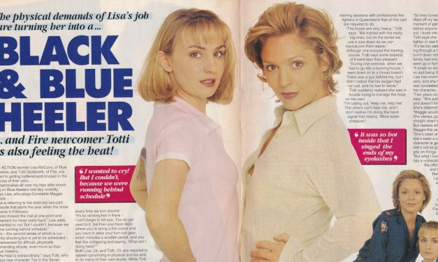 "TV Week: ""Black & Blue Heeler"" Blue Heelers & Fire 13th January 1996"