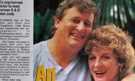 "TV Week: ""An arresting couple!"" Home and Away 14th November 1987"