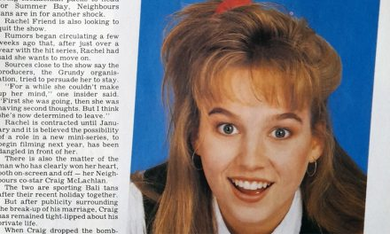 "TV Week: ""Rachel's Set to Quit!"" Neighbours 14th October 1989"