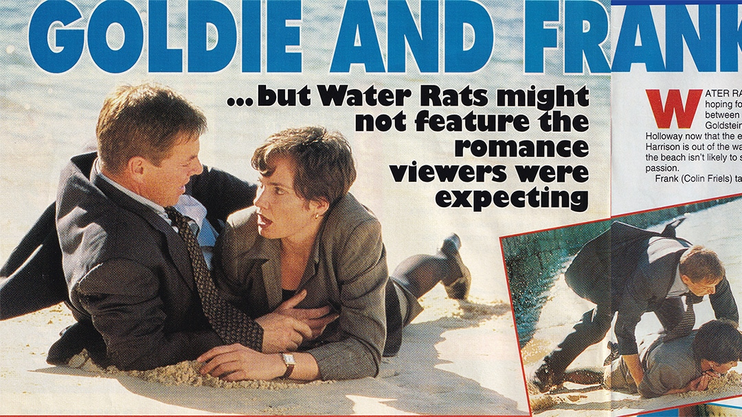 """TV Week: """"Goldie and Frank Roll Back"""" Water Rats 8th February 1997"""