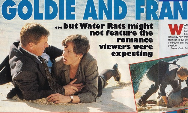 "TV Week: ""Goldie and Frank Roll Back"" Water Rats 8th February 1997"