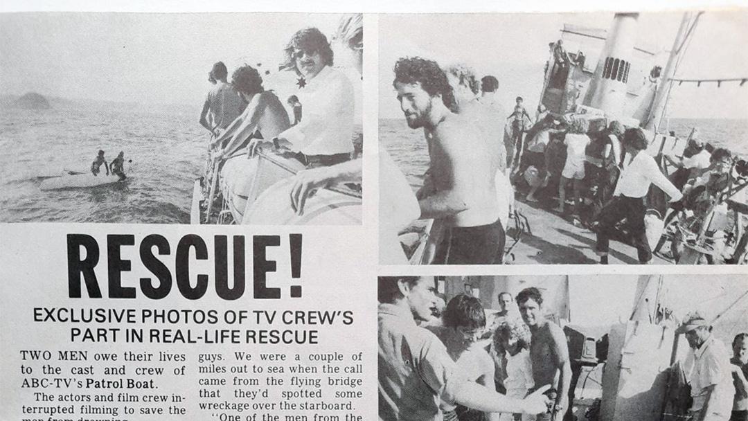 """TV Week: """"Rescue!"""" Patrol Boat 16th December 1978"""