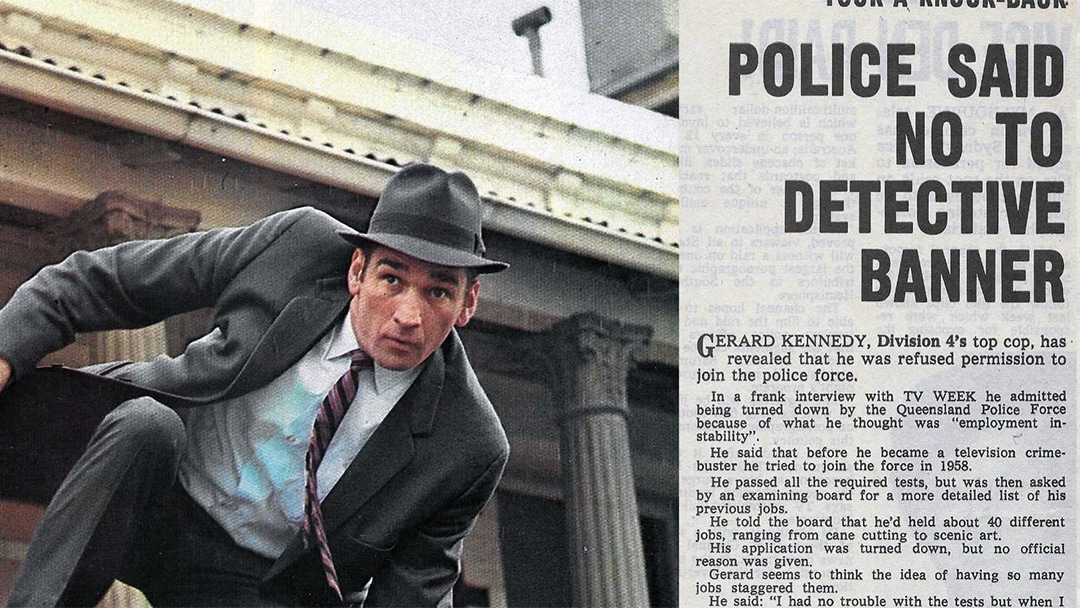 """TV Week: """"Police Said No To Detective Banner"""" Division 4 24th October 1970"""
